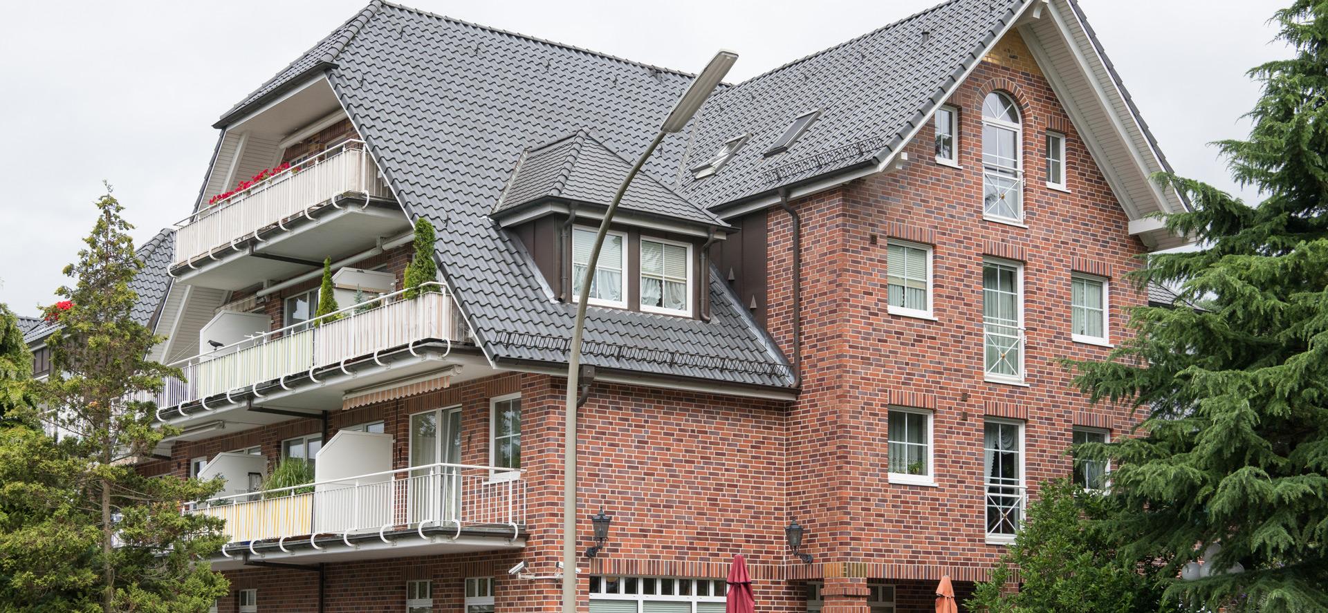 Außenansicht der Seniorenresidenz Bramfeld in Hamburg