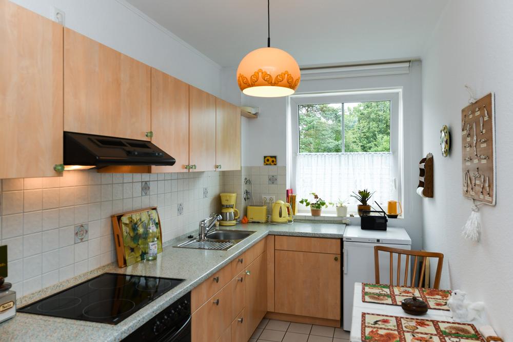 Küche in der Seniorenresidenz Bramfeld in Hamburg