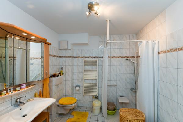 Altersgerechte Badezimmer in der Seniorenresidenz Bramfeld